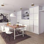 Kuchyňa a jedáleň v jednom – praktické riešenie alebo chyba?
