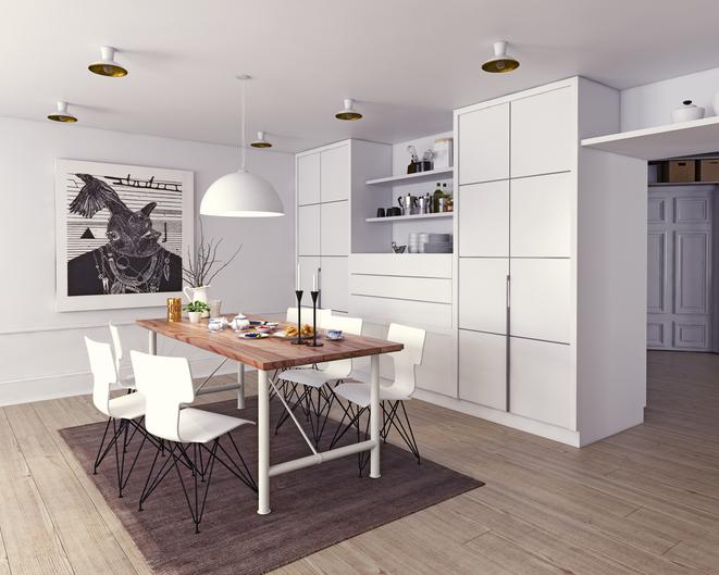Kuchyňa a jedáleň v jednom - praktické riešenie alebo chyba?